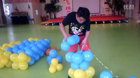大小球气球墙蛋糕教学1-开始