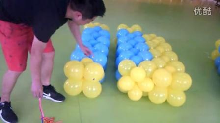 大小球气球墙蛋糕教学-连接