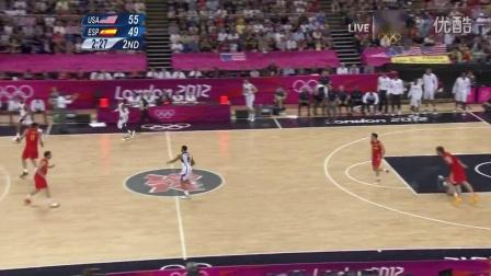 伦敦奥运男篮决赛 美国vs西班牙 录播