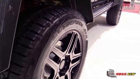 2016 奔驰 G500 4x4 方形的巴博斯 500 - 内外近拍 - 2016日内瓦车展