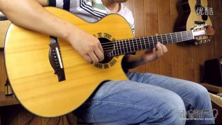 Ervin Somogyi 000 2001' 吉他评测试听 沁音原声