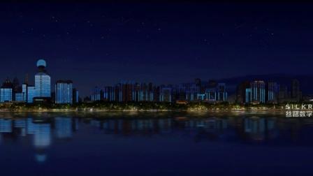 武汉沿江城市灯光秀  丝路出品