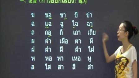 【泰语入门零基础】 第十一课:身体部位