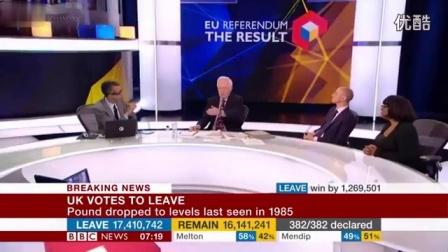 【生肉】BBC 英国退欧公投开票特别报道【3/4】【15小时一刀未剪】