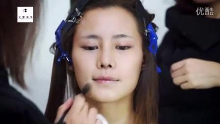 5新娘妆培训学校韩式新娘妆面(2)新娘发型培训