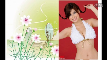日本美女白色内衣可爱写真视频