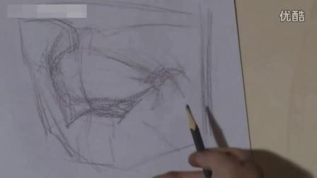 素描人物组合速写_石膏几何体图片_速写基础教程111
