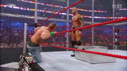 randyorton WWE John Cena VS Randy Orton 地狱牢笼PPV 2009 超清