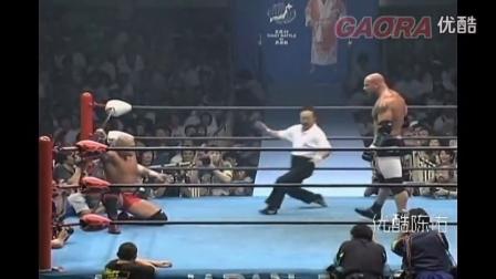 WWE 高柏在日本揍日本人 Goldberg vs Taiyo Kea_超清