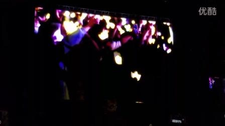 2016Bigbang重庆演唱会 开场MV Let's not fall in love