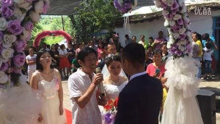 弟弟婚礼现场