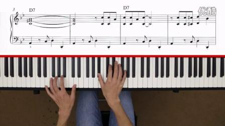 左手带有tango节奏和大跨越音型的布鲁斯