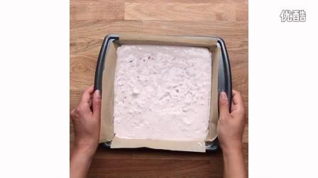 【大吃货爱美食】草莓奶酪冰淇淋小点心 160705