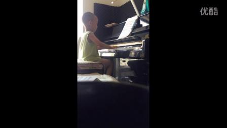 克列门蒂op.36 No.1 第一乐章(四岁五个月)