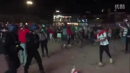2016 欧洲杯 葡萄牙 vs 威尔士 2-0 !葡萄牙球迷赛场外疯狂!