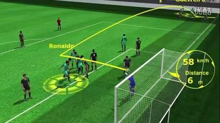 2016 欧洲杯 葡萄牙 vs 威尔士 2-0 !动画 图解 进球