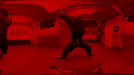 360 vr 虚拟现实 忍者训练日常 想变忍者的跟着练习 哈哈