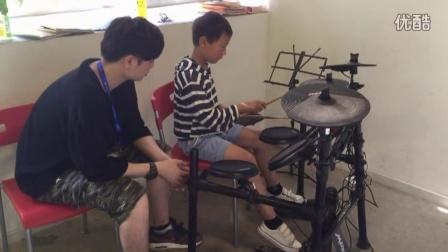 桔子树艺术培训教学视频-少儿架子鼓初级