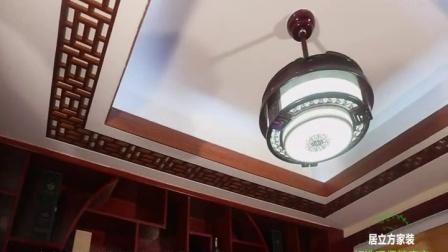 南宁居立方家装中式风格样板房视频!