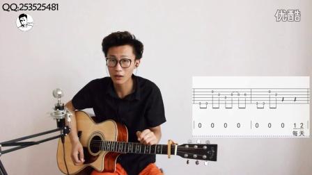 小LV吉他教程第五十一课 郝云《活着》吉他弹唱教学教程学习讲解