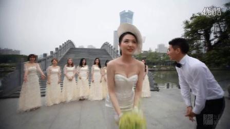 温州公主嫁到 厉信 陈铁 浪漫婚礼 王朝大酒店