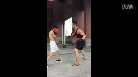 2016年暑期训练拳击