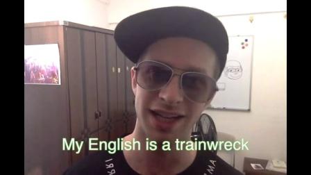 老外王霸胆教你怎么纠正你的穷B英语 原创英语学习视频 英语听力基础入门 地道美语发音教学视频 英语口语日常学习视频 英语音标发音教学视频