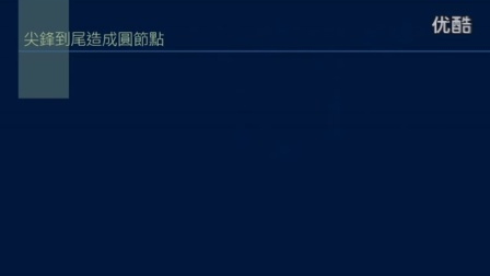黄简讲书法:初级课程43 节点的形状2