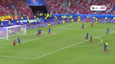 葡萄牙 1-0 法国(2016法国欧洲杯决赛)全场精彩集锦