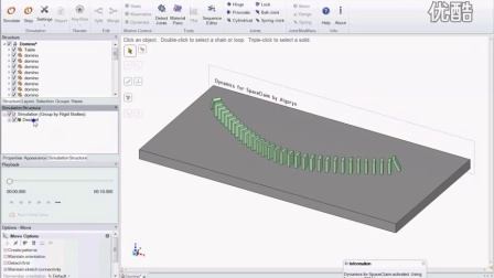 Dynamics for Pidex Domino