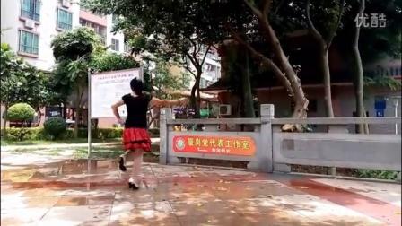 华之星广场舞【朋友一生最难得】演示阿华。原创重庆叶子