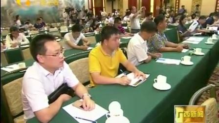 广西左江花山岩画文化景观成功列入世界文化遗产名录新闻发布会举行 160715 广西新闻