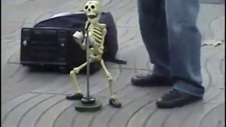 【视界频道】太牛了,这骷髅从哪个舞蹈学校毕业的