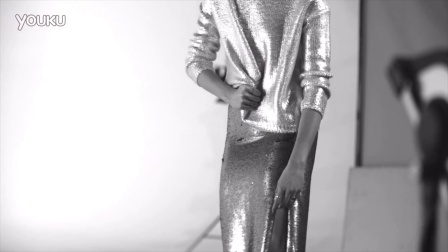 Karlie Kloss for MANGO - New Metallics SS16 Behind The Scenes