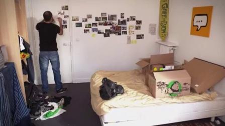 法国超短情景喜剧《Bref.》第39集 总而言之.屌丝男搬出合租房