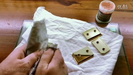 How To Make A Clock In The Home Machine Shop - Part 19 - Making The Legs And Bas
