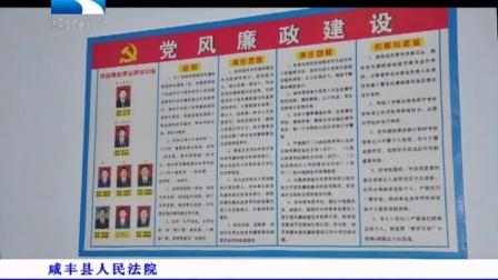 湖北电视台《今日视点》栏目 咸丰县人民法院