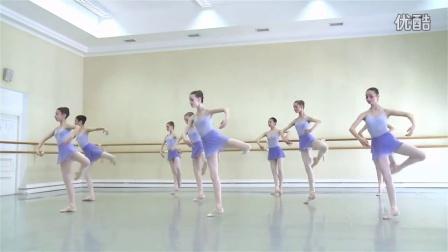芭蕾基训 瓦岗诺娃芭蕾舞学校五年级女班 古典芭蕾考试 2016