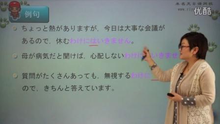 未名天新版标准日语中级上册第25集
