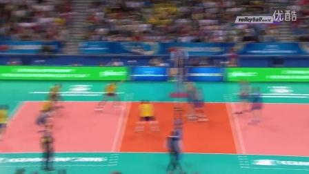 2016世界男排联赛总决赛决赛 巴西vs塞尔维亚