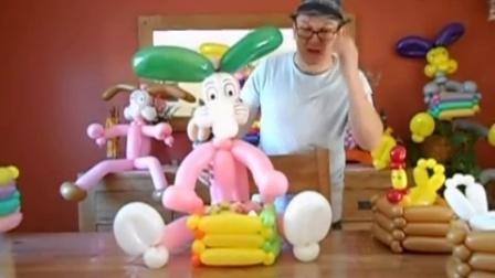 kevin气球教室-大兔子-国外魔术气球教程