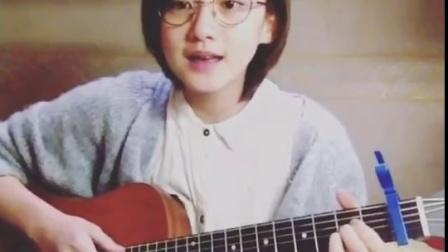 袁澧林Angela 吉他弹唱《好想和你在一起》