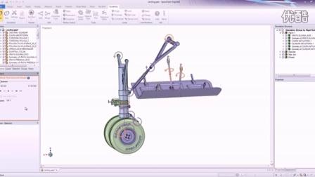 Simple tutorial example - Landing Gear