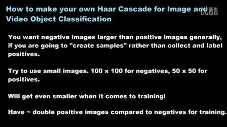 17 Making your own Haar Cascade Intro
