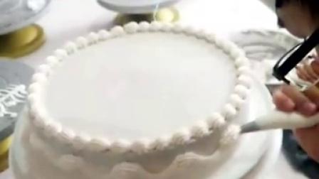 蛋糕花边的做法 生日蛋糕花边怎么做 悠悠香花边教学视频