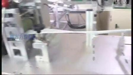 M10本体耳带机裁切_m10折叠口罩机运作视频