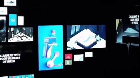 Nike HTMiD Interactive Projection欢乐盛会