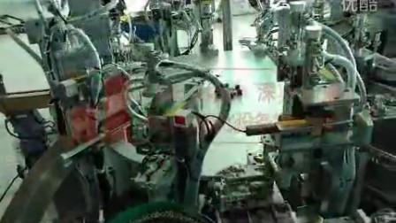 螺口灯头全自动装配机 灯具自动化组装设备视频