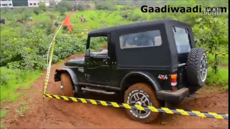 2015 Mahindra Thar Facelift off-road drive