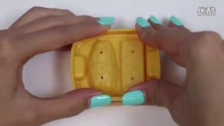 亲子彩泥制作视频 汉堡蛋糕饼干DIY